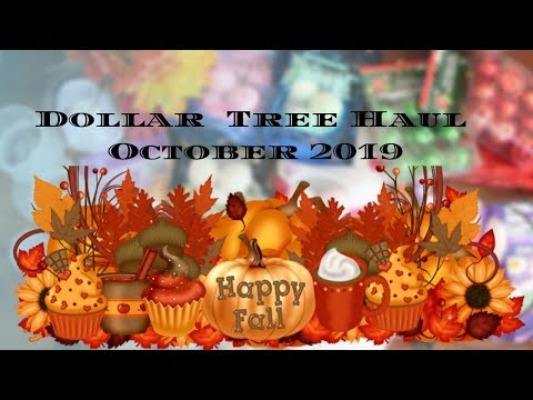 Dollar Tree Haul # New Finds | Christmas Items, Fall Florals and Halloween decor  |Simply D.I.Y