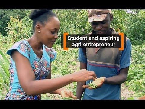 Cote d'Ivoire: Student and aspiring agri-entrepreneur