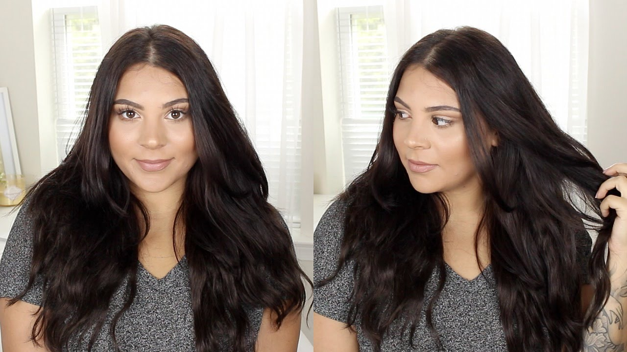 How To Wash Hair Extensions Super Easy Youtube
