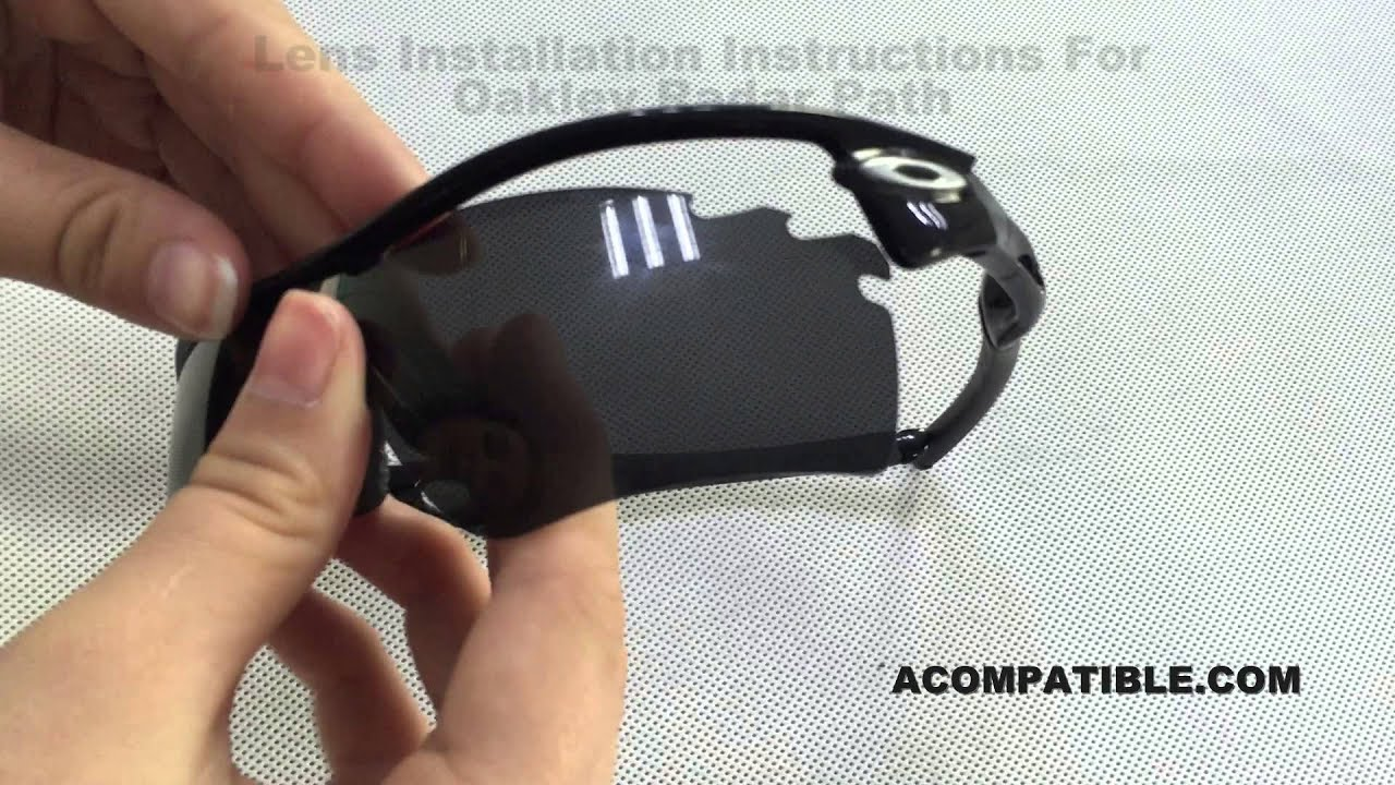 07d0f8e8566 Radar Path Vented Lens Replace Instruction - Acompatible.com - YouTube