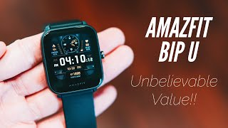 Amazfit BIP U Full Review: Everything You Need To Know! Best $50 Smartwatch?