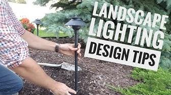Low Voltage Landscape Lighting - Design, Installation, DIY Kits