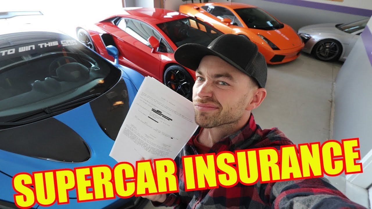 how-much-does-insurance-cost-for-a-supercar-collection