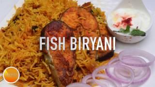 Fish Biryani மீன் பிரியாணி Tamil Nadu Style