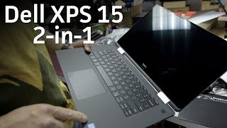 Dell XPS 15 2-in-1 unboxing and comparison