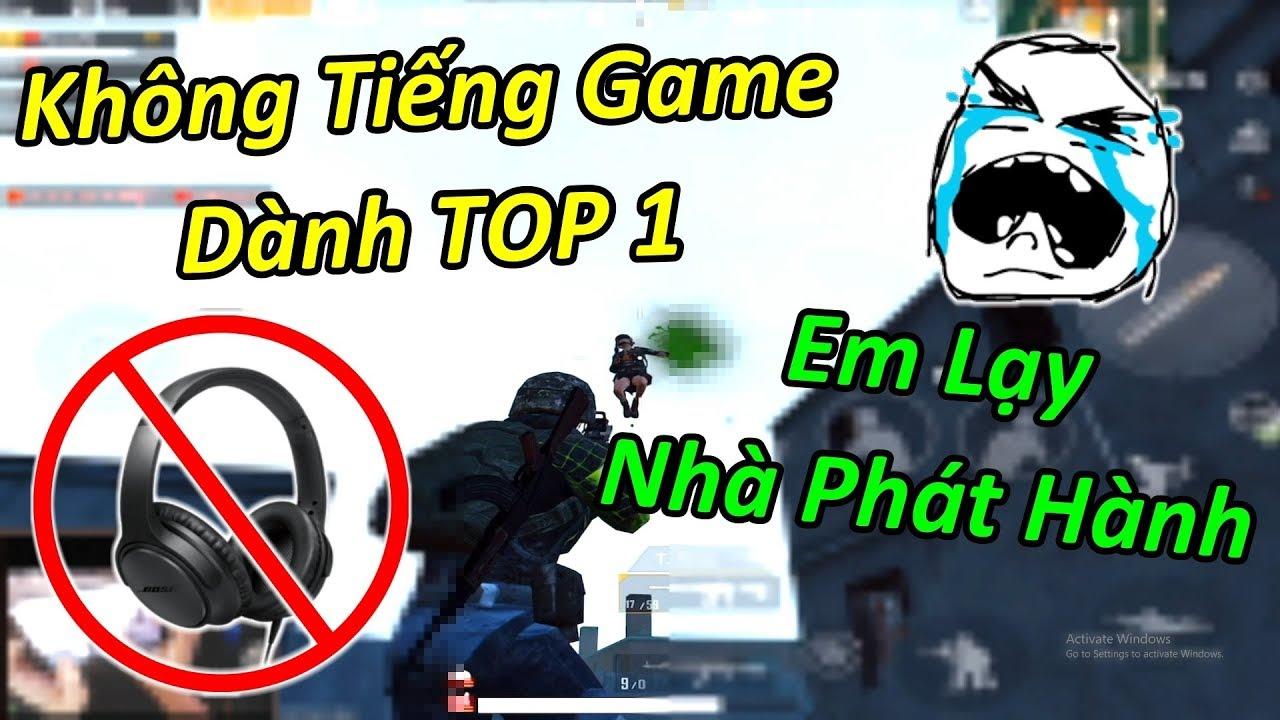 RinRin Phát Khóc Làm THỬ THÁCH Không Tiếng Game Dành TOP 1 – Em Lạy NPH Tha Em | PUBG Mobile
