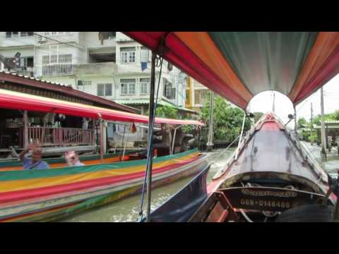 Long Boat Canal Tour in Bangkok, Thailand