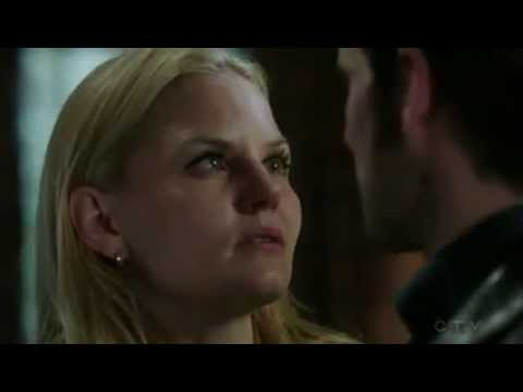 Hook & Emma Kiss 4x16 Once Upon A Time