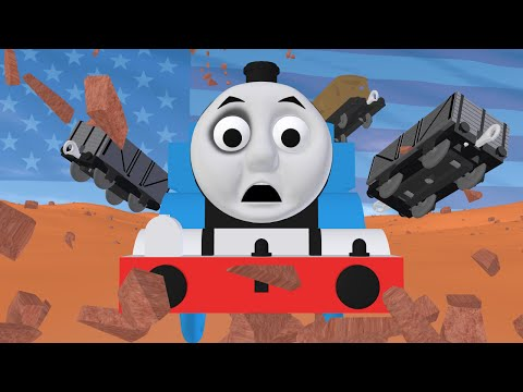 TOMICA Thomas & Friends Short 43: Thomas in America (Draft Animation - Behind the Scenes)