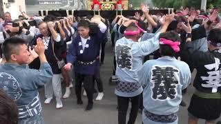 久下田祇園祭 宮出し