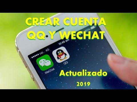 Como Crear Cuentas En QQ Y We Chat En Android. Actualizado 2019