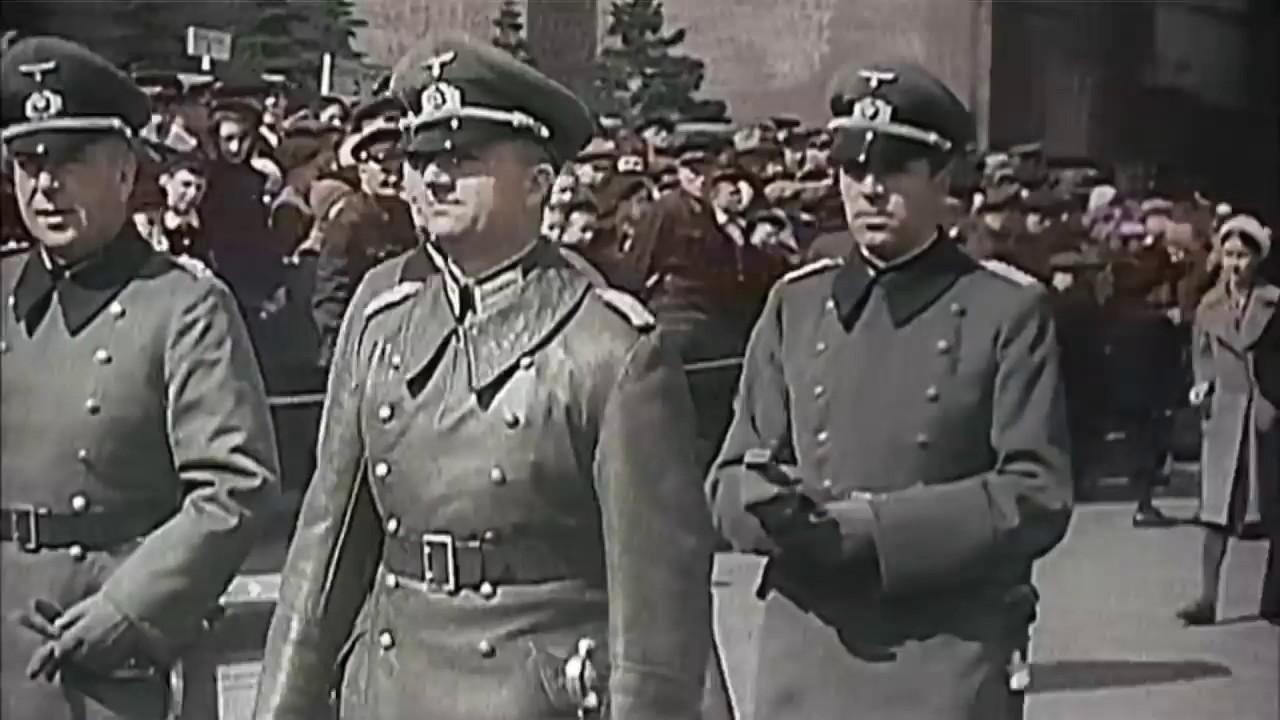Немцы о параде 1 мая 1941 года