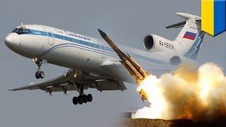 MH17 animation: flight wasn