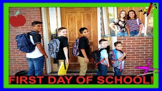 FIRST DAY OF SCHOOL | MORNING ROUTINE | BACK TO SCHOOL