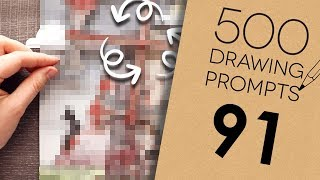 MY ART CAN MOVE?! - 500 Prompts #91