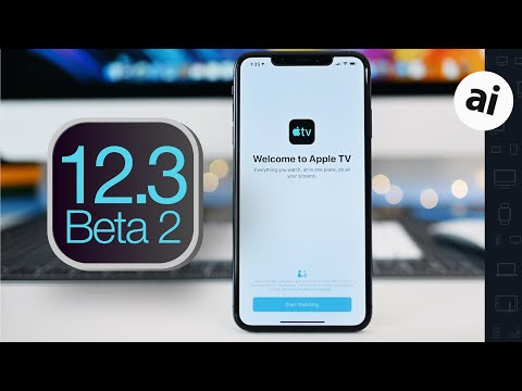 What's New in iOS 12.3 Beta 2!