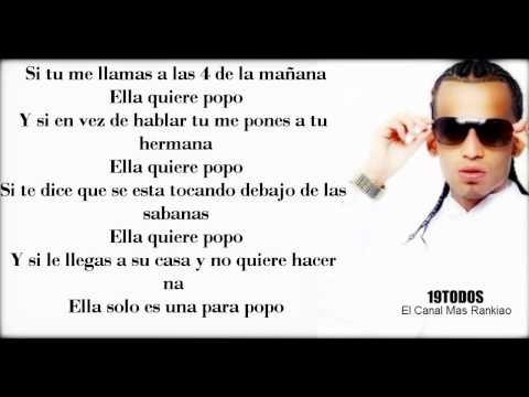 Ella Quiere Popo (Letra) Arcangel Ft Ñejo y Dalmata & Lui-G (2011) HD
