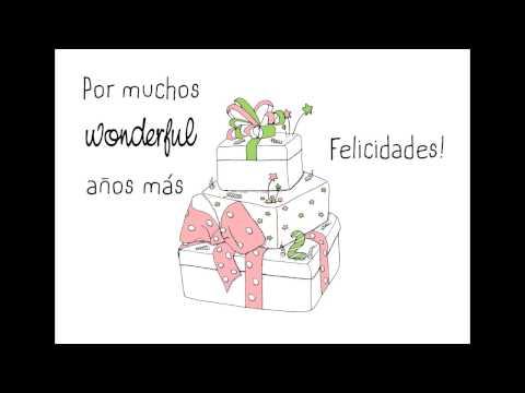 Feliz cumpleanos mr wonderful