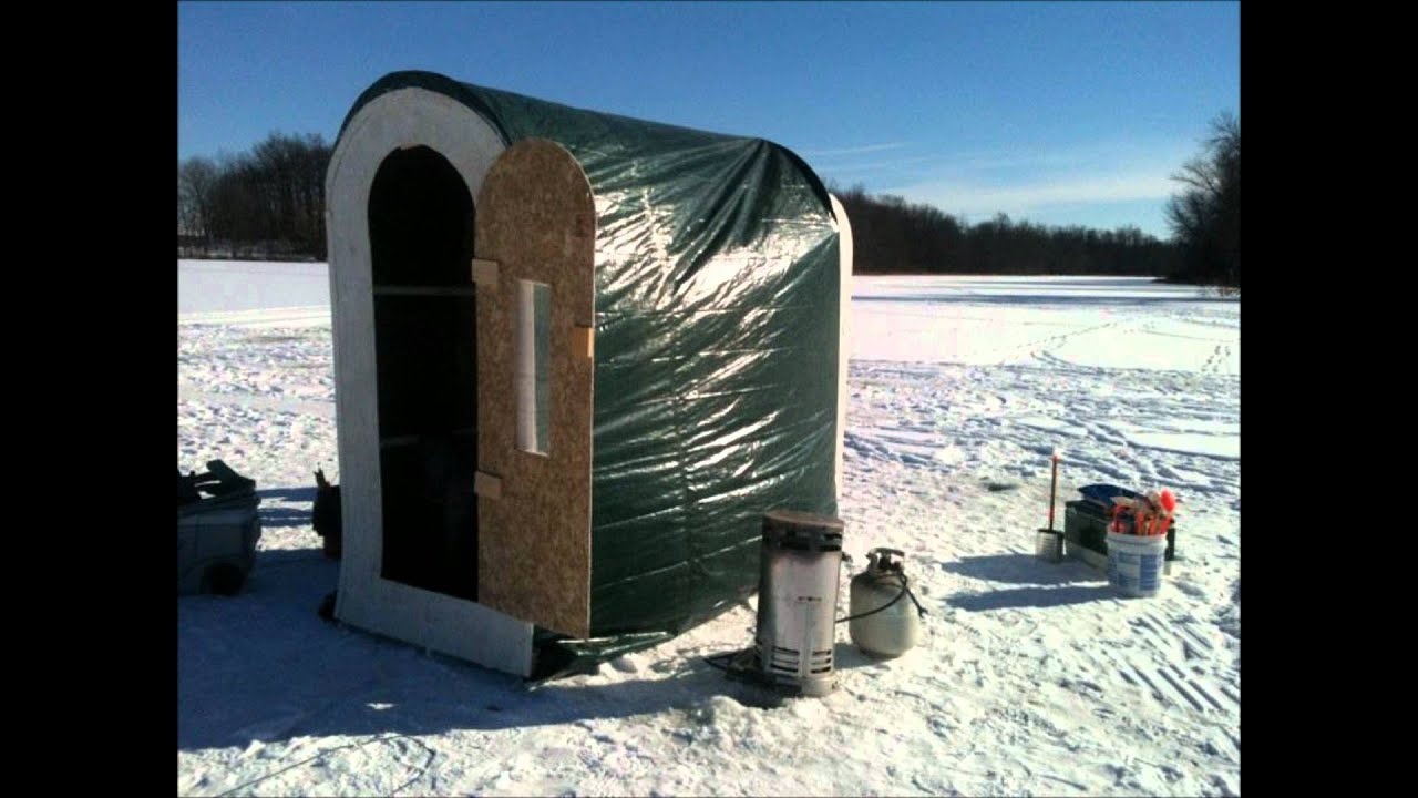 Portable Ice Fish House Plans - Year of Clean Water