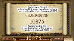 Book of Dead Gesamtgewinn €10875! Grosser Gewinn!