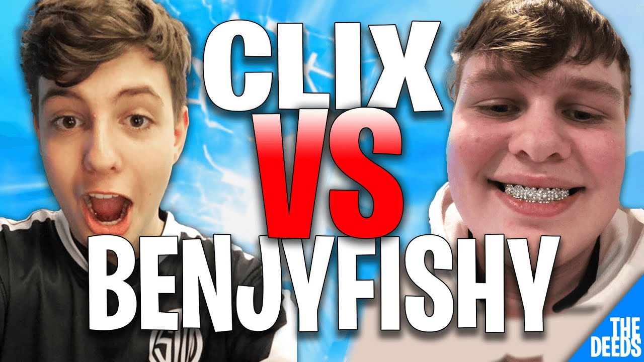 2 POV - NRG Clix 1 VS 1 NRG Benjyfishy For $1000 To See Who Is Better | 1v1 Buildfights