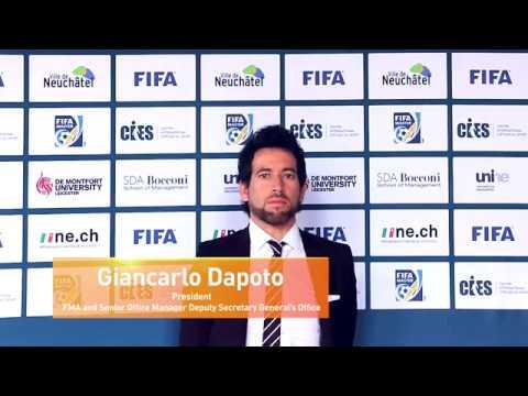 Giancarlo Dapoto, FMA President and FIFA Senior Office Manager Deputy Secretary General's Office