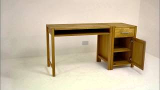 Contemporary Oak Modular Office Range