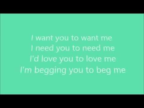 THE BEATLES - I NEED YOU LYRICS