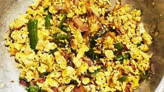 #LunchboxRecipe முட்டை சாதம் || குழந்தைகளுக்கும் ரொம்ப பிடிக்கும் || Egg Rice