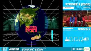 Strider 2 by chuckles825 in 22:30 - Awesome Games Done Quick 2016 - Part 15