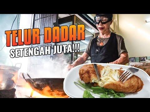 GILA!!! Nunggu 5jam Untuk Telur Dadar Harga SETENGAH JUTA!!Koki nya Nenek 75thn