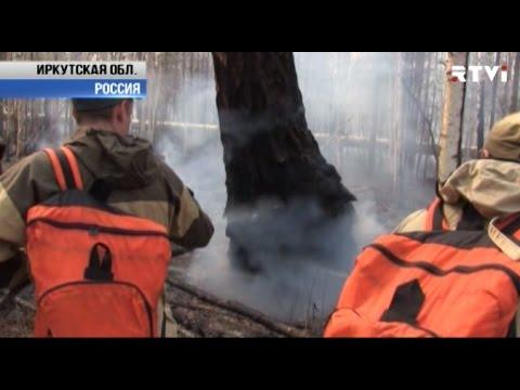 ЧС в Сибири из-за пожаров. В Иркутской области сгорела деревня