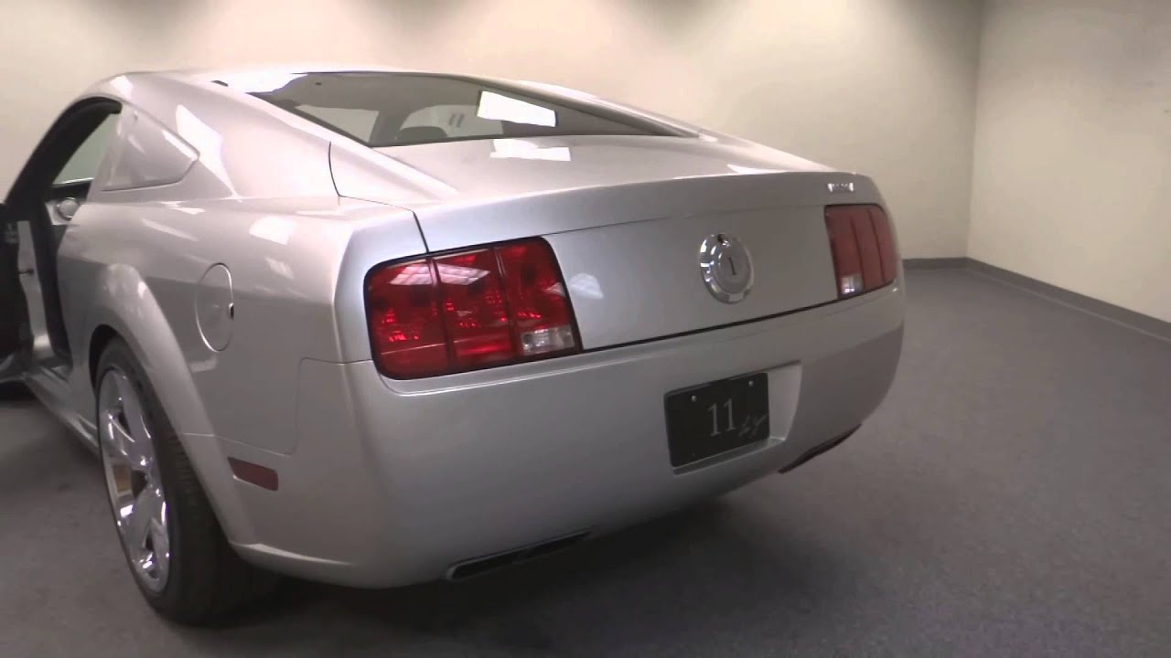 2009 ford mustang iacocca 45th anniversary - #175 - det - youtube