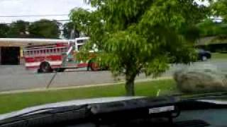 Oakland NJ Fire Department Responding
