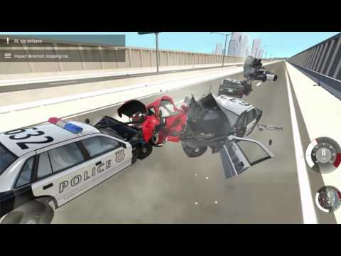 BeamNG.DRIVE HIGH SPEED CRASHES HARDCORE DESTRUCTION DESTROYING CARS BLOWING