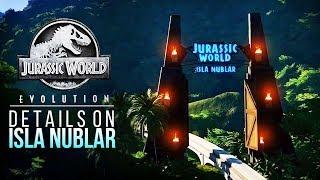 ISLA NUBLAR SANDBOX DETAILS REVEALED! | Jurassic World: Evolution Isla Nublar Sandbox Mode