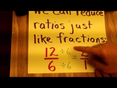 Ratios: An Introduction To Ratios In The Sixth Grade