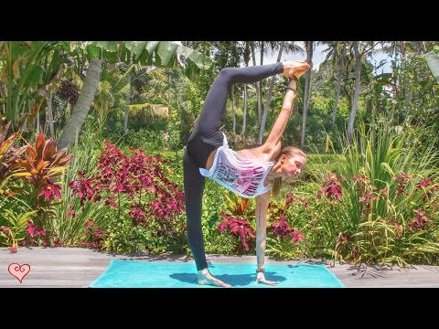 Yoga For Leaner Legs ♥ Strength, Tone & Balance   Ubud Yoga