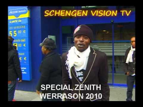 SCHENGEN VISION : LES COMEDIENS AU ZENITH DE