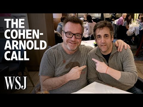 """Michael Cohen Denies Some Crimes in Tom Arnold Call: """"It's a Lie"""" 
