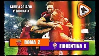 Download Video Roma VS Fiorentina 2-0 - Stagione 2014/15 MP3 3GP MP4