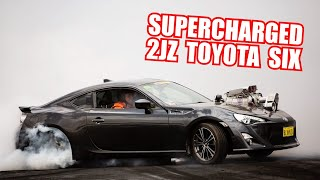 Supercharged 2JZ-Swapped Toyota 86 at Summernats