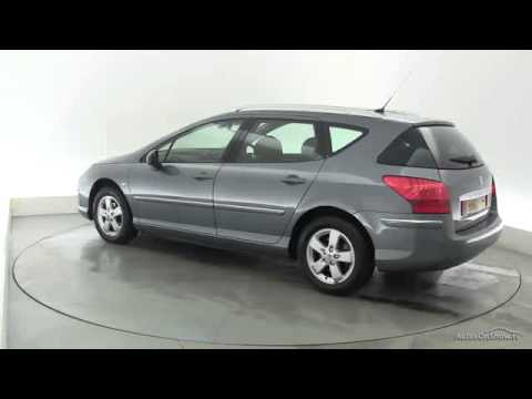 2010 peugeot 407 sw sport hdi youtube. Black Bedroom Furniture Sets. Home Design Ideas