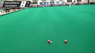 OSC Dolphin Double 3s - Quarter Final (Richard Clark/Norman Coad vs Chris Wilkins/Adam White)