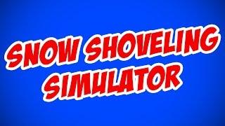 ICE CUBES FRA SØEN! - Roblox Snow Shoveling Simulator Dansk (livestream)