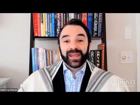 Shabbat Wisdom with Rabbi Greg: March 5, 2021