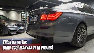 BMW 740i Makyaj ve M Projesi | TR'de İlk ve Tek | Bonus M3 Güç Gösterisi (english subtitles)
