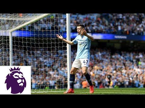 Sergio Aguero finds Phil Foden for Man City goal against Tottenham | Premier League | NBC Sports