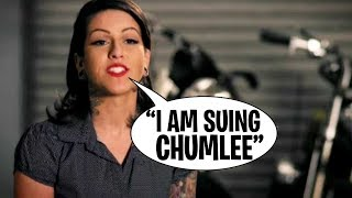 Pawn Stars Olivia Black is SUING CHUMLEE!