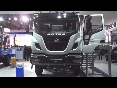 Iveco Astra HD9 84.50 Tipper Truck Exterior and Interior in 3D